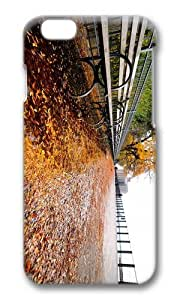 MOKSHOP Adorable Autumn New York Hard Case Protective Shell Cell Phone Cover For Apple Iphone 6 Plus (5.5 Inch) - PC 3D by lolosakes