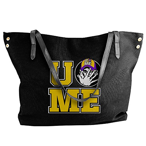 [WWE John Cena Ladies Canvas Handle Single Shoulder Bag/Handbag] (Randy Orton Costume)