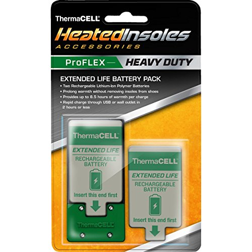 ThermaCELL Heated Insoles Proflex Heavy Duty Battery Pack