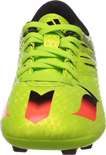 adidas Messi 15.4 Fxg J, Botas de Fútbol Unisex Bebé Solar Slime