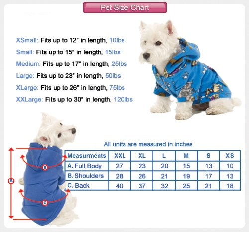 Footed Pajamas Teddy Bear Pet Pajamas - Medium