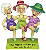 Westland Giftware Biddy Babes 5-3/4-Inch Bobble Figurine