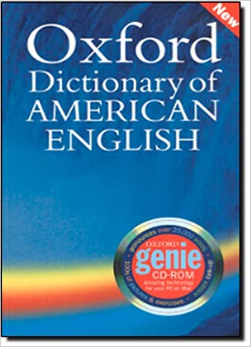 Oxford Dictionary of American English for learners