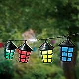 Benross GardenKraft 17300 Assorted Colour Lantern String Garden Lights (Pack of 70)