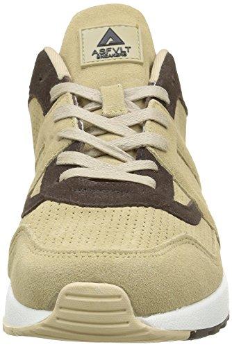 beige chocolat Baskets pour basses au City adultes Run lait Unisexe Asfvlt 6Enx8Hq0wU