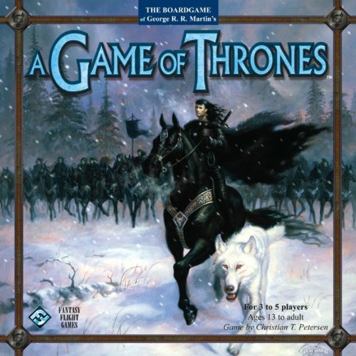 Fantasy Flight Games A Game of Thrones (Game Of Thrones Board Game 1st Edition)