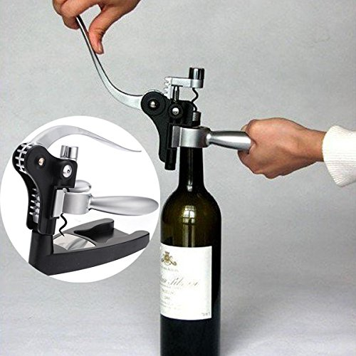 LYEJM Rabbit Red Wine Opener Tool Cork Bottle Tire Corkscrew Collar Pourer Gift Set LYEJM by LYEJM (Image #2)