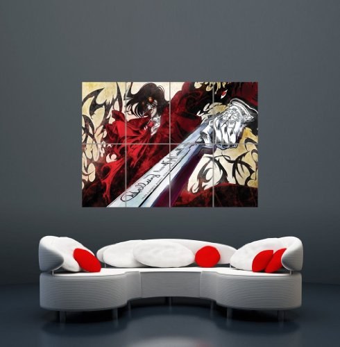 HELLSING ULTIMATE MANGA ANIME GIANT WALL ART PRINT POSTER P