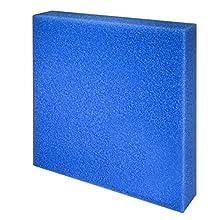 JBL 62566 Reutilizable de Espuma para Obras de Filtro de Acuario contra Todos Turbiedad de Agua Azul Grueso