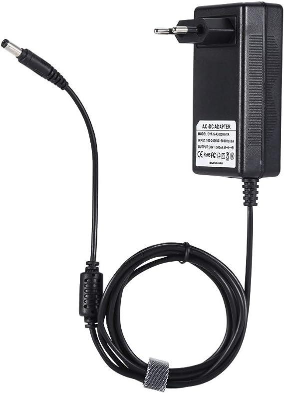 Cargador de batería DEYF 30V 500mA Adaptador de corriente para ...