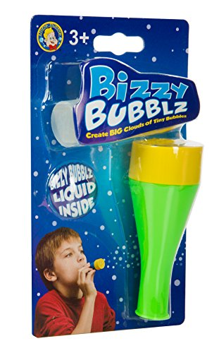 Uncle Bubble's Bizzy Bubblz Kit - Colors Vary (Gymboree Bubble Ooodles With Wand And Tray)