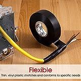 Power Gear, Black, PowerGear Electrical Tape, 60 Ft