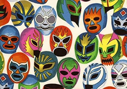Amazon.com: Alexander Henry Mascaras de pelea (algodón ...