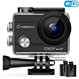 "Crosstour WiFi Action Camera Full HD 1080P Underwater Cam 2"" LCD Screen Waterproof"