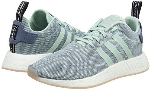 0 NMD Green adidas White Footwear Mujer Zapatillas para Steel r2 Raw Verde Ash Tq7ZqA