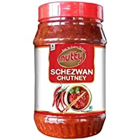 Nutty Schezwan Chutney - 1 Kgs, Spicy Dip, Blended with Quality Seasonings