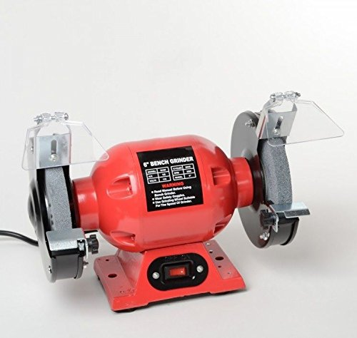 6'' Bench Grinder Electric Sharpening Grinding Wheel Stone New Free Shipping!