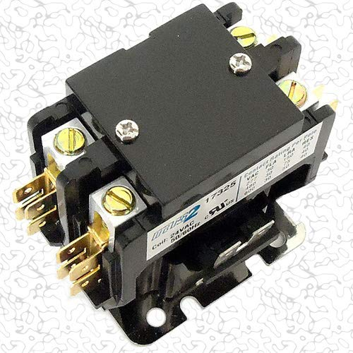 Replacement for Siemens Furnas Double Pole / 2 Pole 40 Amp 240v Condenser Contactor Relay 45FG20AG ()
