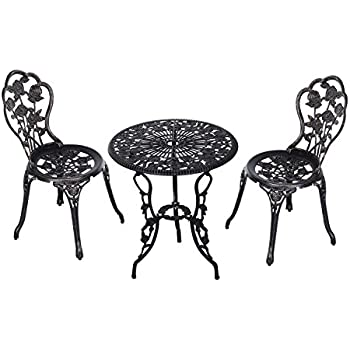 Amazon Com Outsunny 3 Piece Antique Style Outdoor Patio