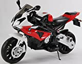 toyzz New 2017 Model Official Licensed BMW S1000R Rechargeable Electric Ride on Motorbike Kids Sports Pocket Motor Bike 12v Car 3 COLORS (RED)