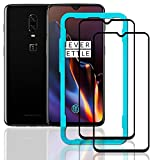 Ibywind OnePlus 6T Screen Protector[Pack of 2]-3D Full Coverage Premium 9H Tempered Glass Screen Protectors with Easy Install Kit for OnePlus 6T