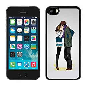 NEW DIY Unique Designed iPhone 5C Generation Phone Case For Anime Lovers Kissing Phone Case Cover