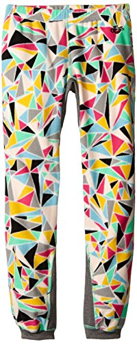 Hot Chillys Youth La Montana Print Bottom, Shatter Prism/Gray, Small by Hot Chillys