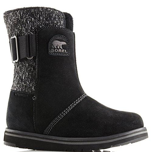 Womens Calf Winter Rylee Sorel Boots Warm Snow Suede Mid Rain Waterproof Black CCSrw