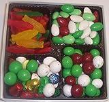 Scott's Cakes Large 4-Pack Deluxe Christmas Mix, Christmas Jordan Almonds, Christmas Malt Balls, & Swedish Fish