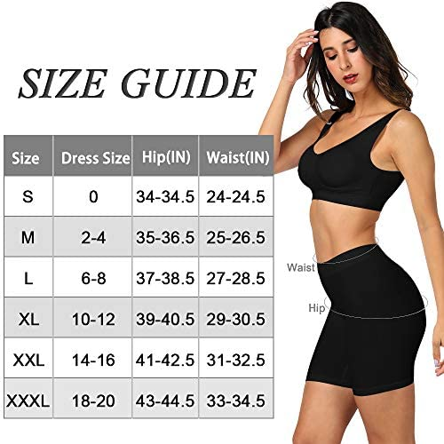 BESTENA Slip Shorts Womens Comfortable Seamless Smooth Slip Shorts for Under Dresses