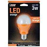 Feit Electric A19/O/LED A19 Orange LED Review and Comparison