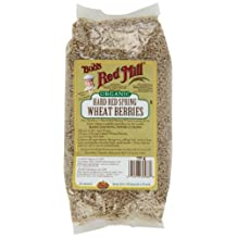 Bob's Red Mill Organic Hard Red Spring Wheat Berries, 793 gm