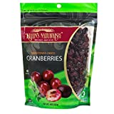 Kleins Natural's Natural Dried Cranberries, All Natural Dried Cranberries, Sweetened Cranberry Dried Fruit Snacks, Craisins Dried Cranberries, 9-Ounce Pouches (Pack of 3) Review
