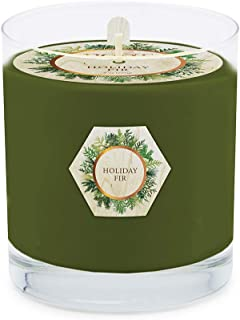 product image for Root Candles Single Wick Scented Beeswax Blend Candle, 8-Ounce, Holiday Fir