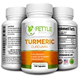 Tumeric Curcumin Turmeric Supplements Powder Capsules 1300mg Daily Dose 2 Month Natural Anti-inflammatory Supplements Antioxidant Supplements Veggie Caps Curcuma Longa Supplement Fettle Botanical