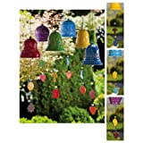 Ceramic Bells With Charms Collection, Brights For Sale