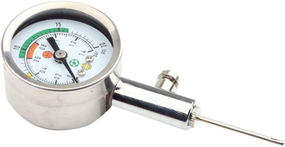 Nideen Medidor de presión de Bomba, medidor Digital de presión de Aire para Baloncesto, fútbol, fútbol, Voleibol y Otros inflables