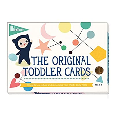 Milestone - Toddler Photo Cards - 30 Photo Cards to Capture The Memorable Moments in Your Child's Early Years (Ages 1-4) : Baby