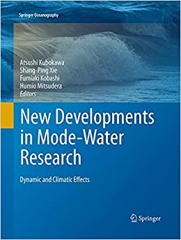 Book New Developments in Mode-Water Research: Dynamic and Climatic Effects