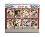 One piece 2017 desk calendar animation collection + 2 pieces lomo card (Wanted)