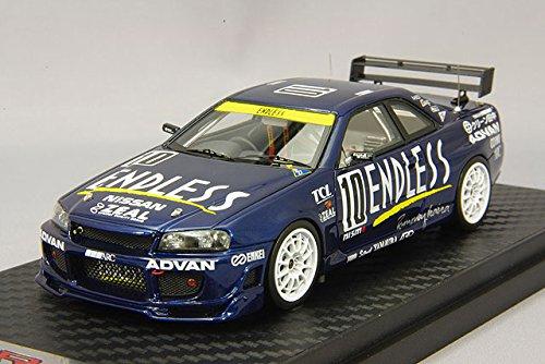 1/43 ENDLESS ADVAN GT-R #10 1999 Super Taikyu(ブルー) IG0093