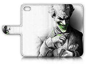 iPhone 6 Plus (5.5') / iPhone 6S Plus (5.5') Flip Wallet Case Cover & Screen Protector Bundle! A20086 Joker Batman at Gotham City Store