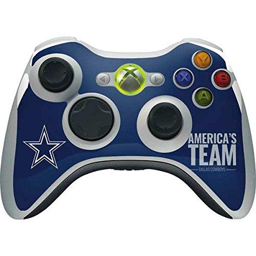 Dallas Cowboys Xbox 360 Wireless Controller Skin - Dallas Cowboys Team Motto | NFL X Skinit Skin (Xbox Skin 360 Nfl Controller)