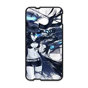 HTC One M7 Phone Case Cartoon Black Rock Shooter Protective Cell Phone Cases Cover DFH099969