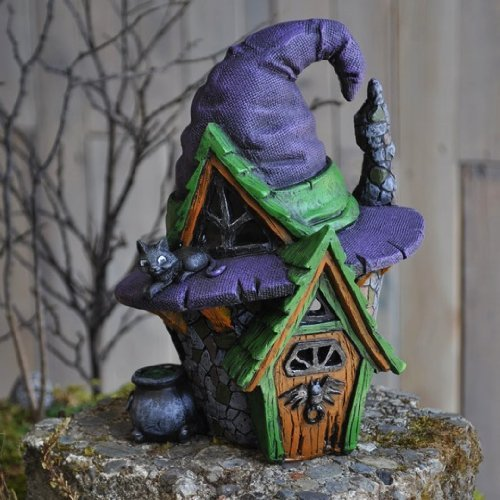 Fiddlehead Fairy Village - The Witch Hat House