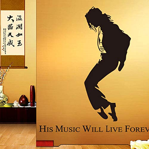 Michael Jackson Silhouette Vinyl Decal Sticker Car/Van/Wall/Door/Laptop/Tablet