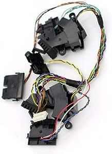 Cliff Sensores Parachoques Sensor para Irobot Roomba 500 600 700 800 Serie, Limpiador Robot Aspiradora Piezas de Recambio - Negro