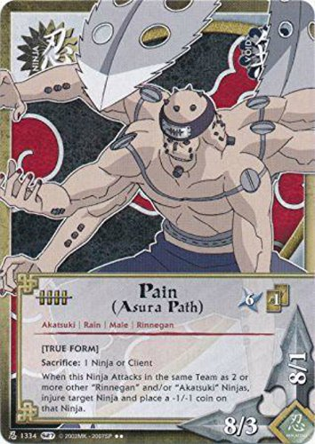Naruto Card - Pain (Asura Path) [True Form] 1334 - Starter Set - Rare