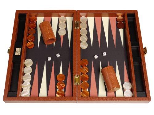 Zaza & Sacci Backgammon Board Game Set - (16