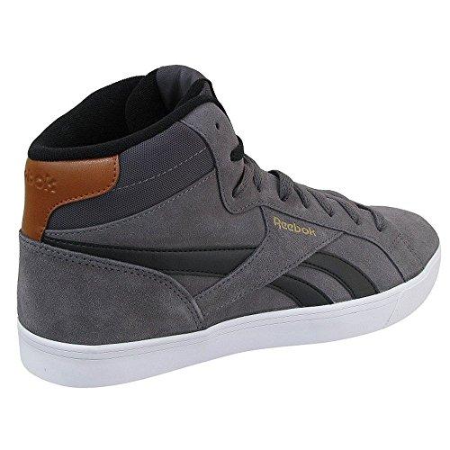Reebok Royal Complete 2ms - Zapatillas de deporte Hombre Gris (Ash Grey / Black / Brown Malt / White / Gold)